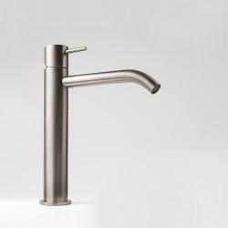 Rubinetto miscelatore monocomando medio per lavabo senza scarico Z316 Inox Zazzeri 33001097A00
