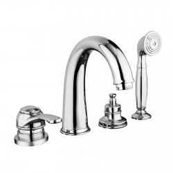 Deck mounted bath mixer with spout Morgan Fratelli Frattini 29029