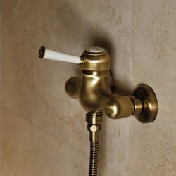 External single-lever shower mixer Morgan Prestige Fratelli Frattini 63006