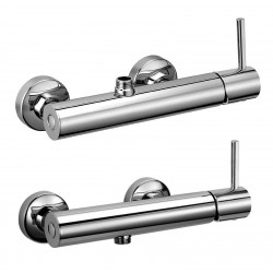 "External single-lever shower mixer with 1/2"" lower connection Pepe 12006"