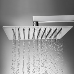 Stainless steel shower head with 4 mm thickness Tetis Bossini H1987