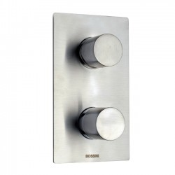 Built-in shower with diverter mixer 2/5 outlet Inox Line by Bossini Z00130 - INZ042