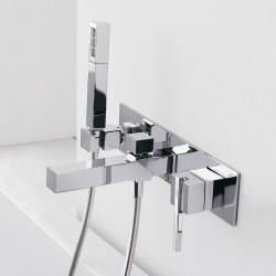 Soqquadro built-in bathtub set