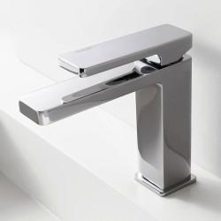 Qquadro single lever washbasin mixer