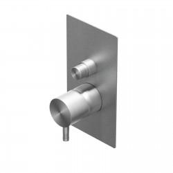 Diametro35 Inox rubinetto incasso doccia con deviatore