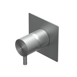 Built-in single lever shower mixer Diametro35 Inox Ritmonio  E0BA0140INOX