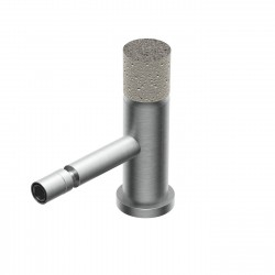 Diametro35 Inox Concrete rubinetto bidet