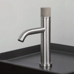 Diametro35 Inox Concrete rubinetto lavabo bocca d'erogazione dritta