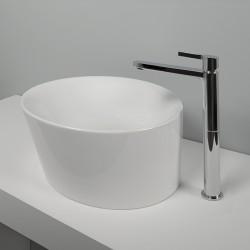 Tie rubinetto lavabo miscelatore monocomando alto PR34AF201