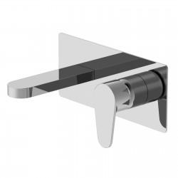 Tip rubinetto lavabo incasso con placca PR38AH101