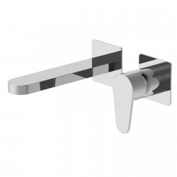 Tip rubinetto lavabo incasso senza placca con bocca d'erogazione lunga PR38AH202