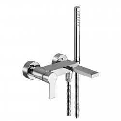Single lever bathtub mixer with side bracket Italia 150 La Torre 35019