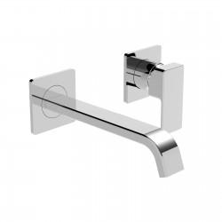 Profili Plus rubinetto miscelatore monocomando per lavabo incasso a parete 46200ST