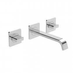 Profili Plus rubinetto per lavabo ad incasso parete 3 fori 46280ST