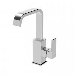 Profili plus rubinetto miscelatore monocomando per lavabo con bocca d'erogazione girevole 46601CS