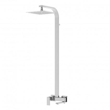 Profili Plus colonna con rubinetto esterno doccia meccanico con bocca girevole 46026COL