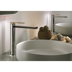 Color miscelatore monocomando alto per lavabo con leve colorate 8046