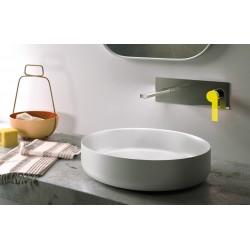 Color rubinetto incasso a muro per lavabo con leve colorate e scatola ispezionabile 8035
