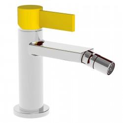 Taya Top con leva colorata rubinetto miscelatore monocomando per bidet