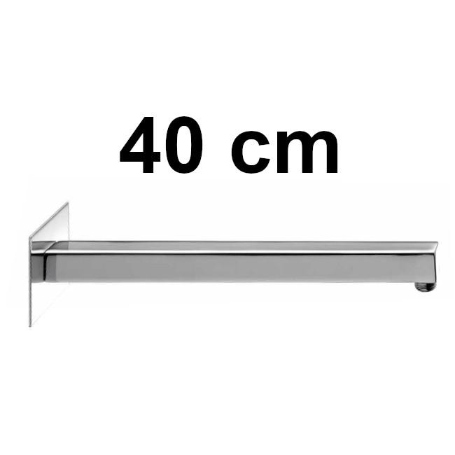 Square, straight, horizontal - length 40 cm